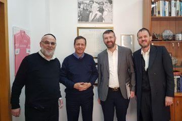 """ביקור אצל יו""""ר הסוכנות היהודית לישראל"""